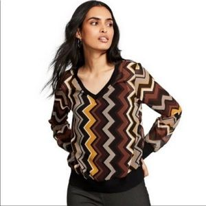 NWT Missoni For Target Sheet Blouse